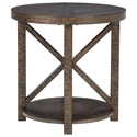 Signature Design by Ashley Jessoli Round End Table - Item Number: T234-6