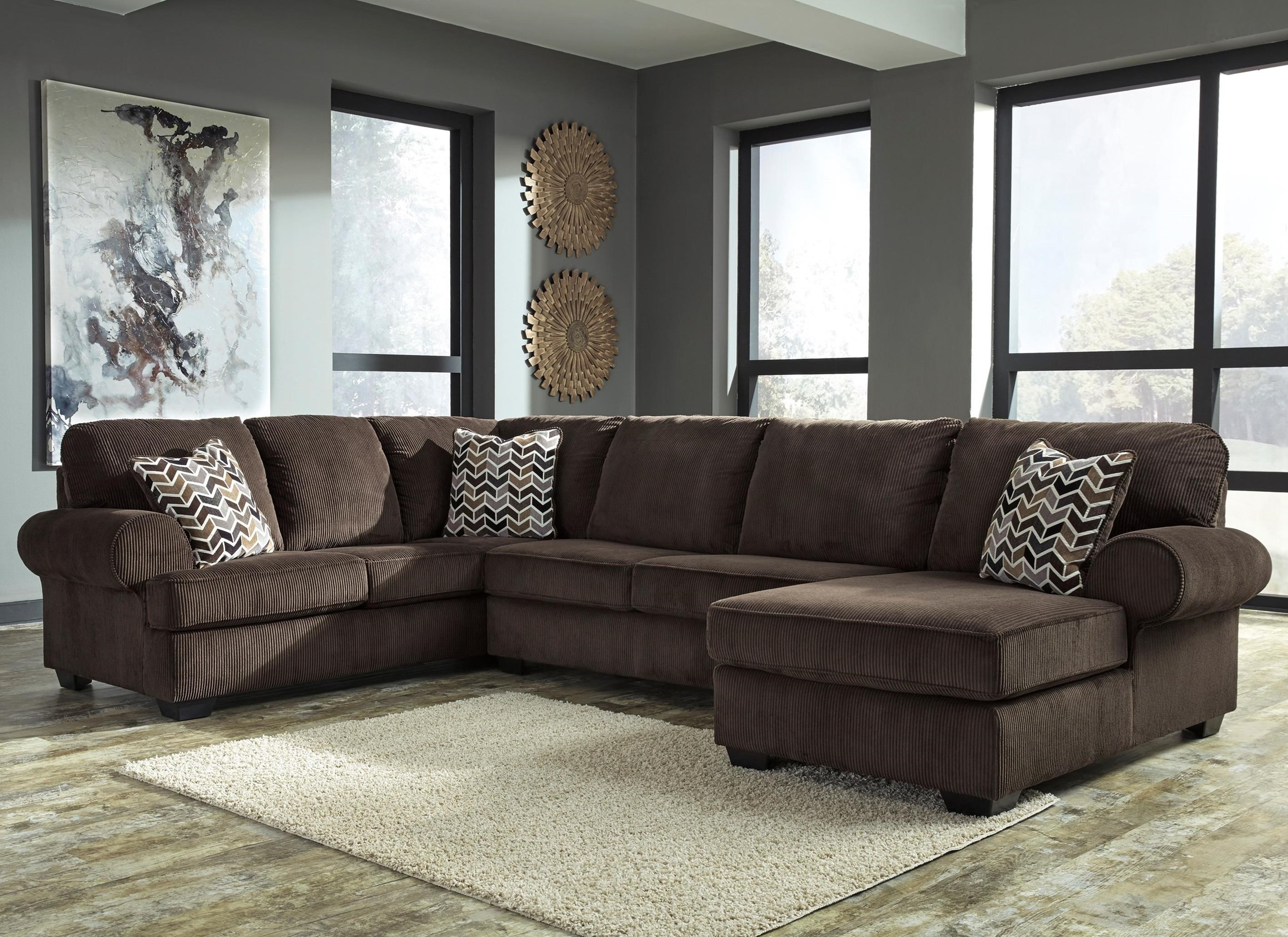 Jinllingsly 3-Piece Sectional with Chaise by Signature at Walker's Furniture