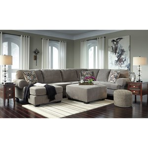 Signature Design by Ashley Jinllingsly Stationary Living Room Group