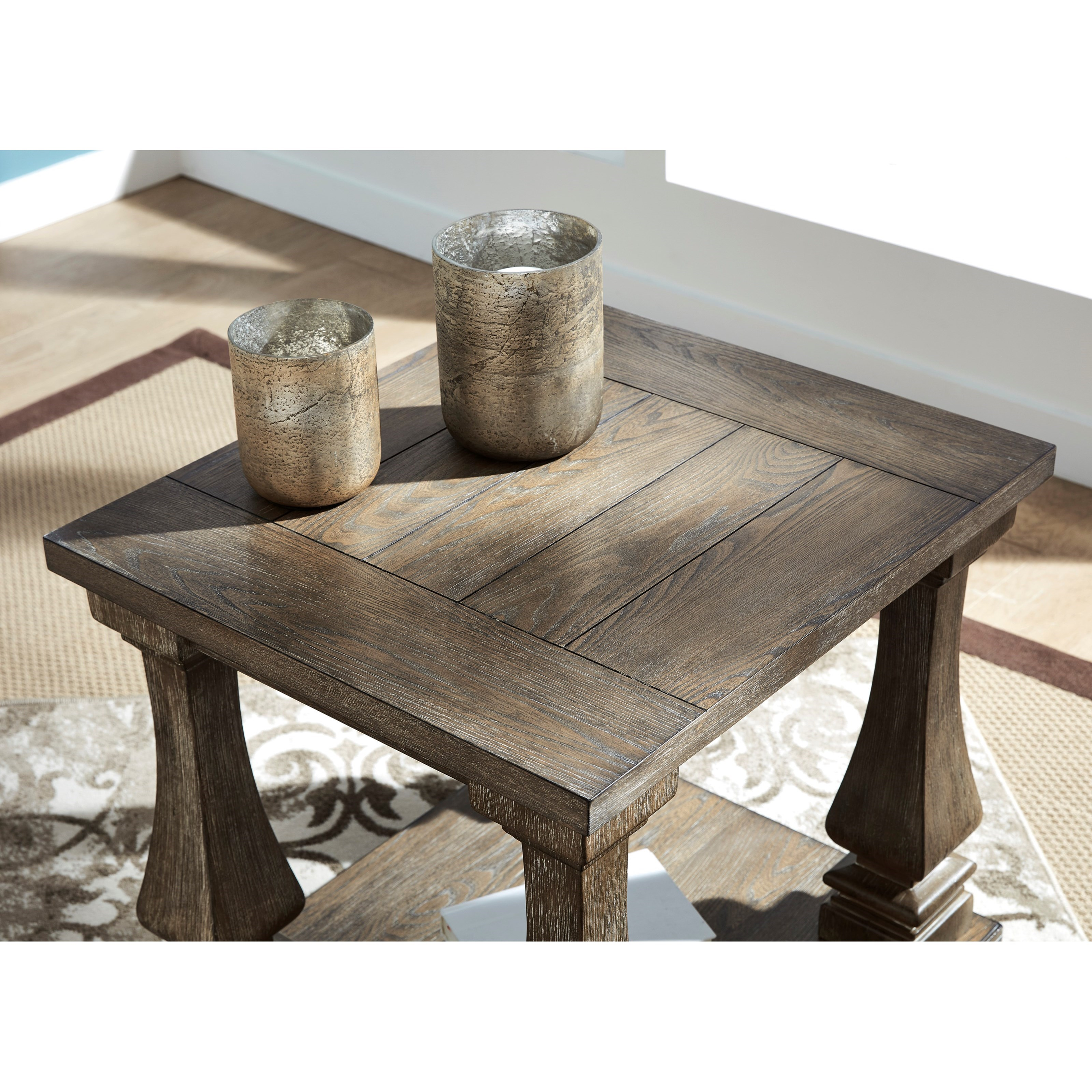 Balustrade Coffee Table Legs Canada: Signature Design By Ashley Johnelle Transitional