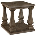 Signature Design by Ashley Johnelle Rectangular End Table - Item Number: T776-3