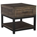 Signature Design by Ashley Johurst Rectangular End Table - Item Number: T444-3