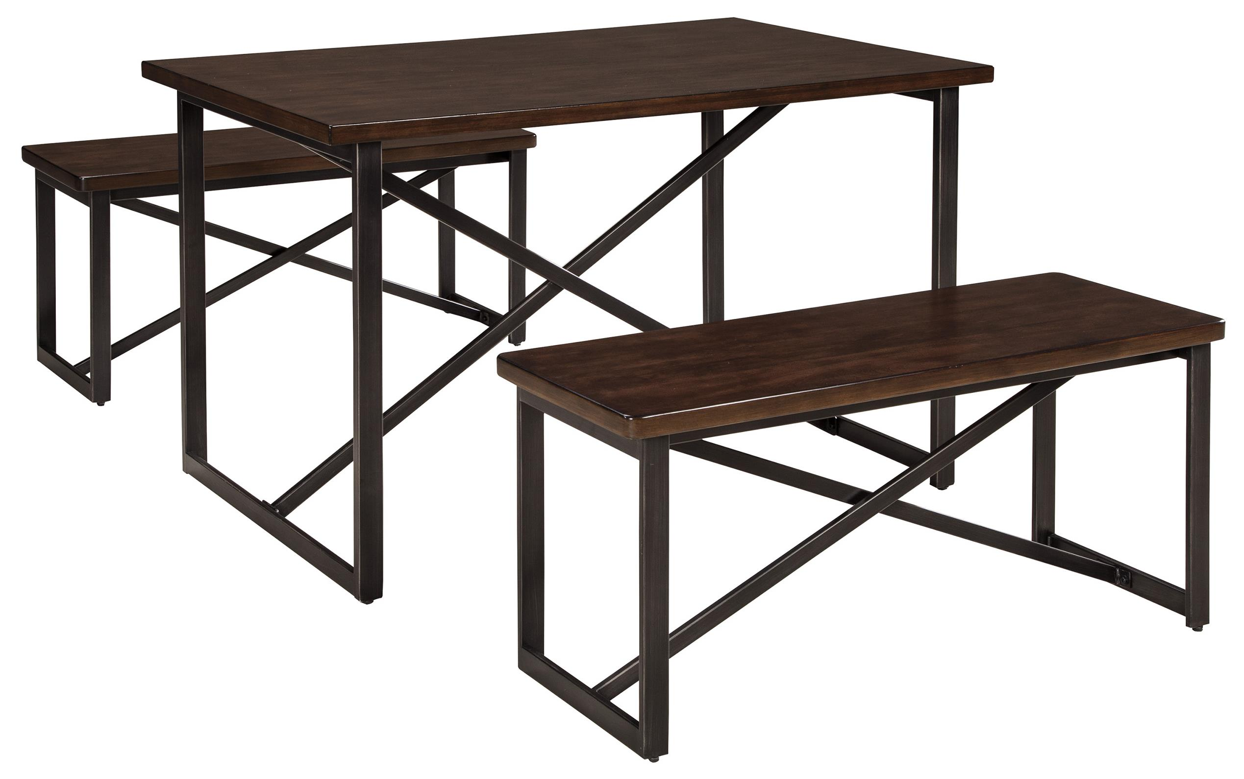 Signature Design by Ashley Joring Rectangular Dining Room Table Set - Item Number: D301-125