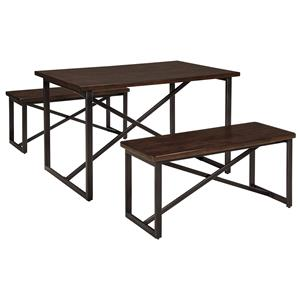 Signature Design by Ashley Joring Rectangular Dining Room Table Set