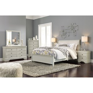 Signature Design by Ashley Jorstad King Bed Room Group