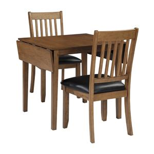 StyleLine Goodman 3-Piece Dining Table and Chair Set