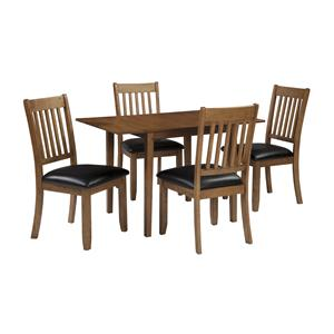 StyleLine Goodman 5-Piece Kitchen Table and Chair Set