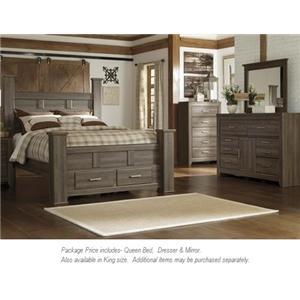 Signature Design by Ashley Juararo 3PC Queen Bedroom