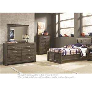 Signature Design by Ashley Juararo 3-PC Twin Bedroom