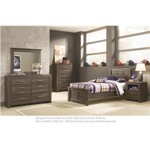 Signature Design by Ashley Juararo 4-PC Twin Bedroom