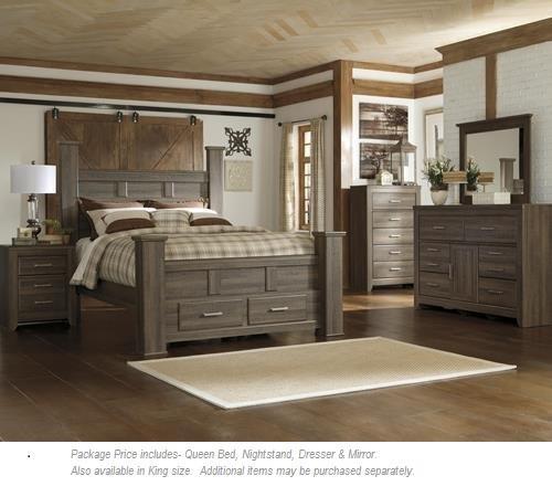 4PC Queen Bedroom