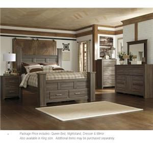 Signature Design by Ashley Juararo 4PC Queen Bedroom