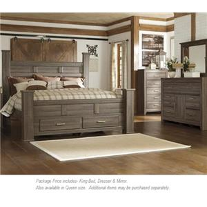 Signature Design by Ashley Juararo 3PC King Bedroom