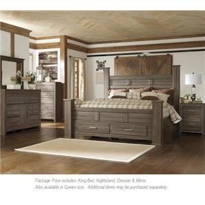 Signature Design by Ashley Juararo 4pc King Bedroom