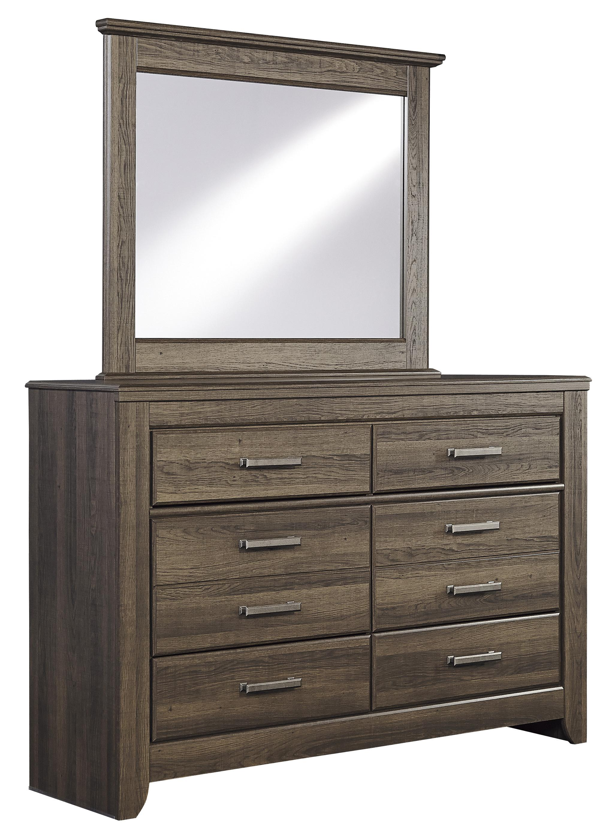 Juararo Dresser & Mirror by Signature Design by Ashley at HomeWorld Furniture