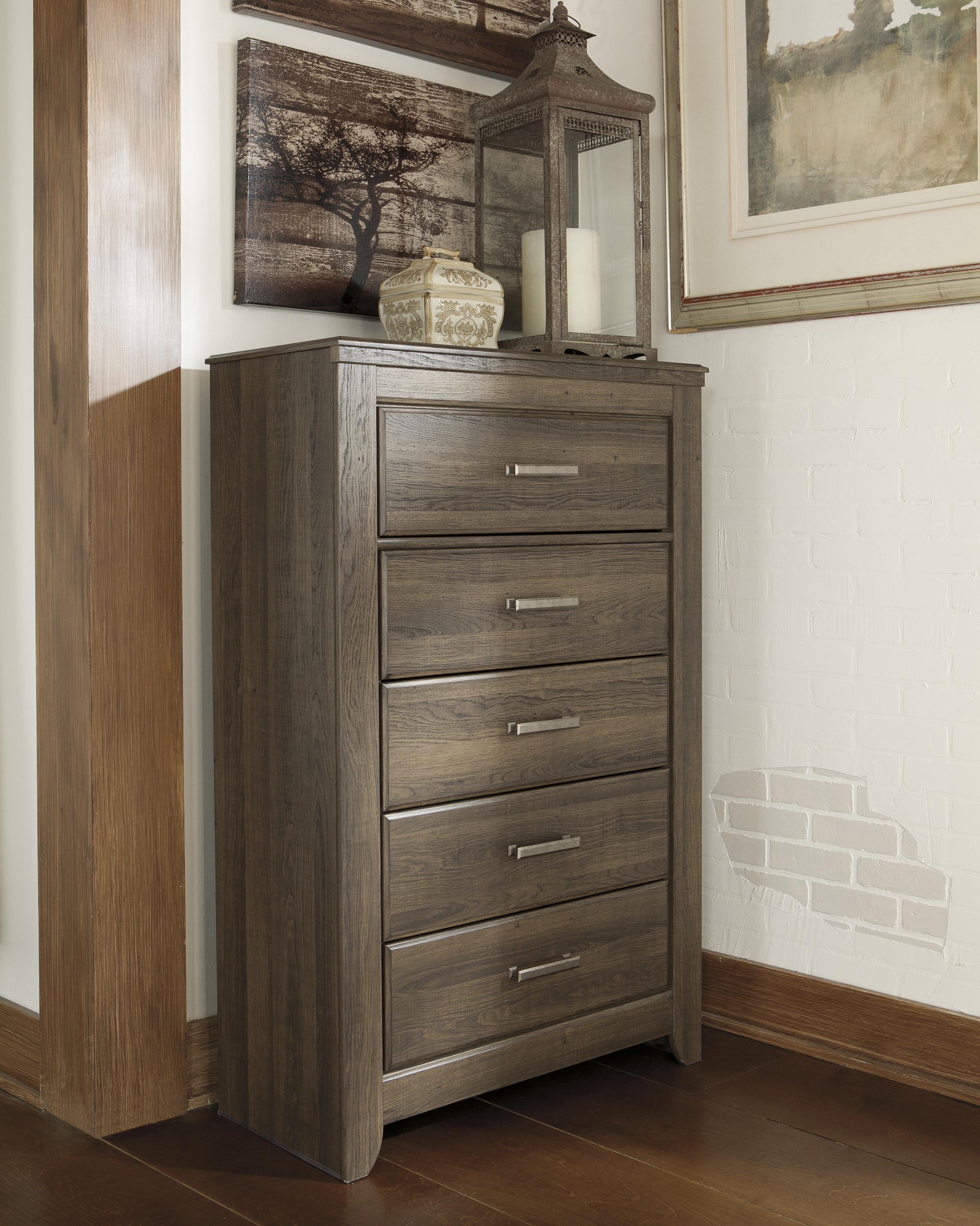 Signature Design By Ashley Juararo 5 Drawer Chest With