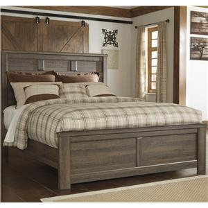 Signature Design by Ashley Furniture Juararo Queen Panel Bed