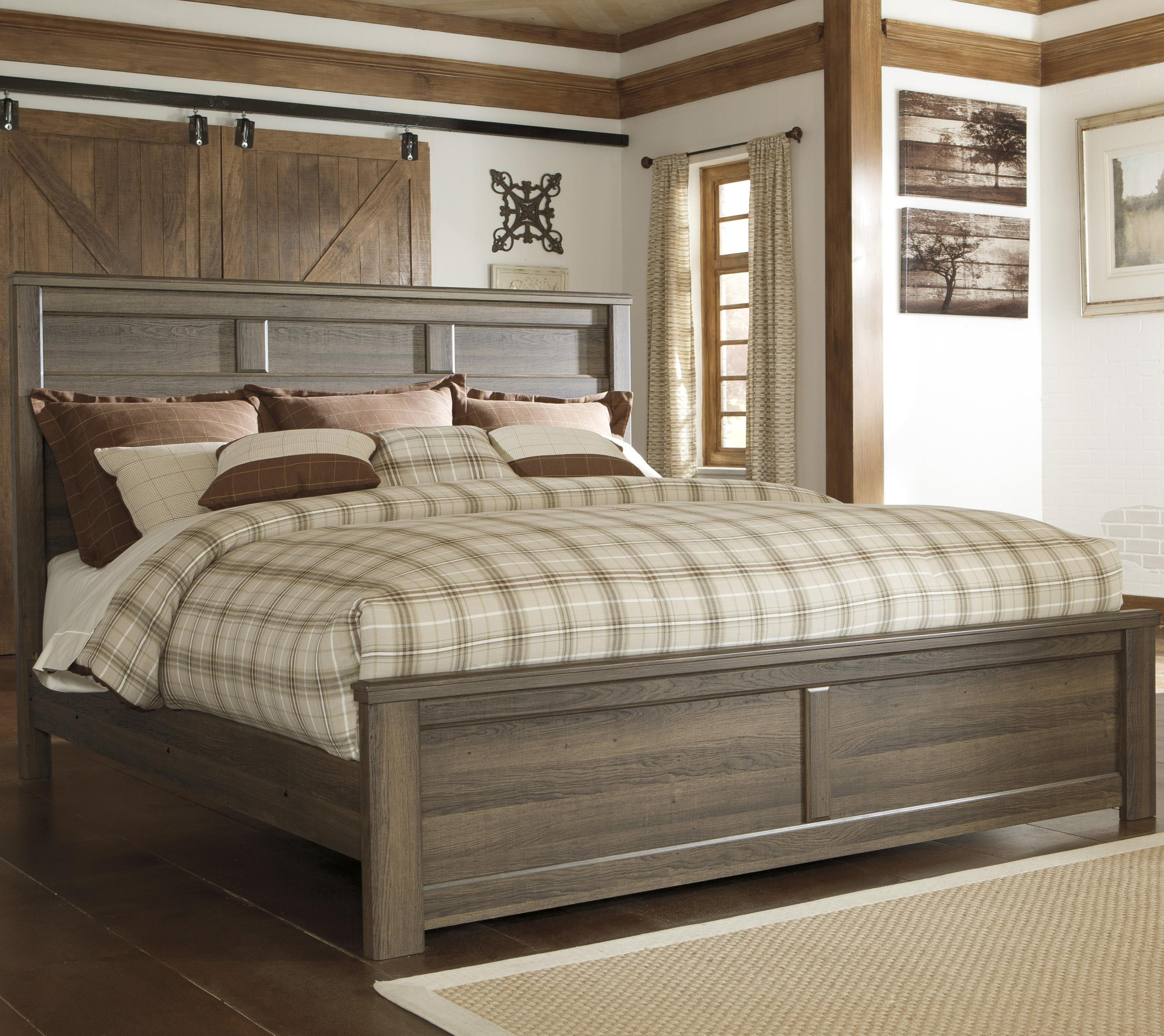 Signature Design by Ashley Juararo King Panel Bed - Item Number: B251-58+56+99