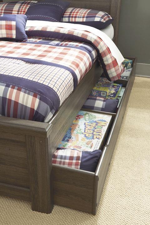 Juararo Trundle Under Bed Storage With Slats by Ashley (Signature Design) at Johnny Janosik