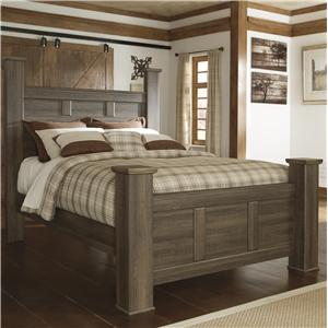 Signature Design by Ashley Sawyer Queen Poster Bed