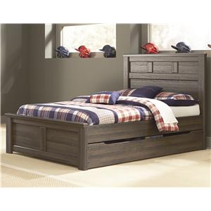 Signature Design by Ashley Juararo Full Panel Bed w/ Under Bed Storage