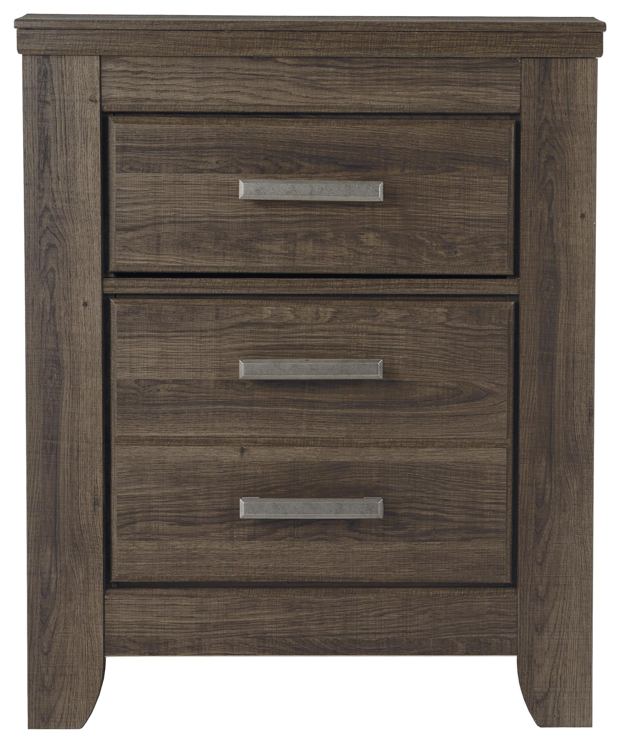 Juararo 2 Drawer Nightstand by Signature Design by Ashley at HomeWorld Furniture
