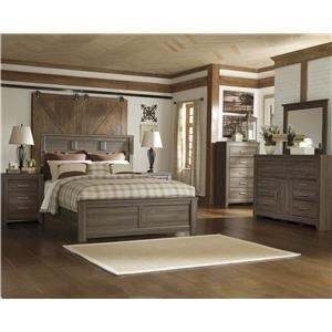 Signature Design by Ashley Juararo 4PC Queen Bedroom Group