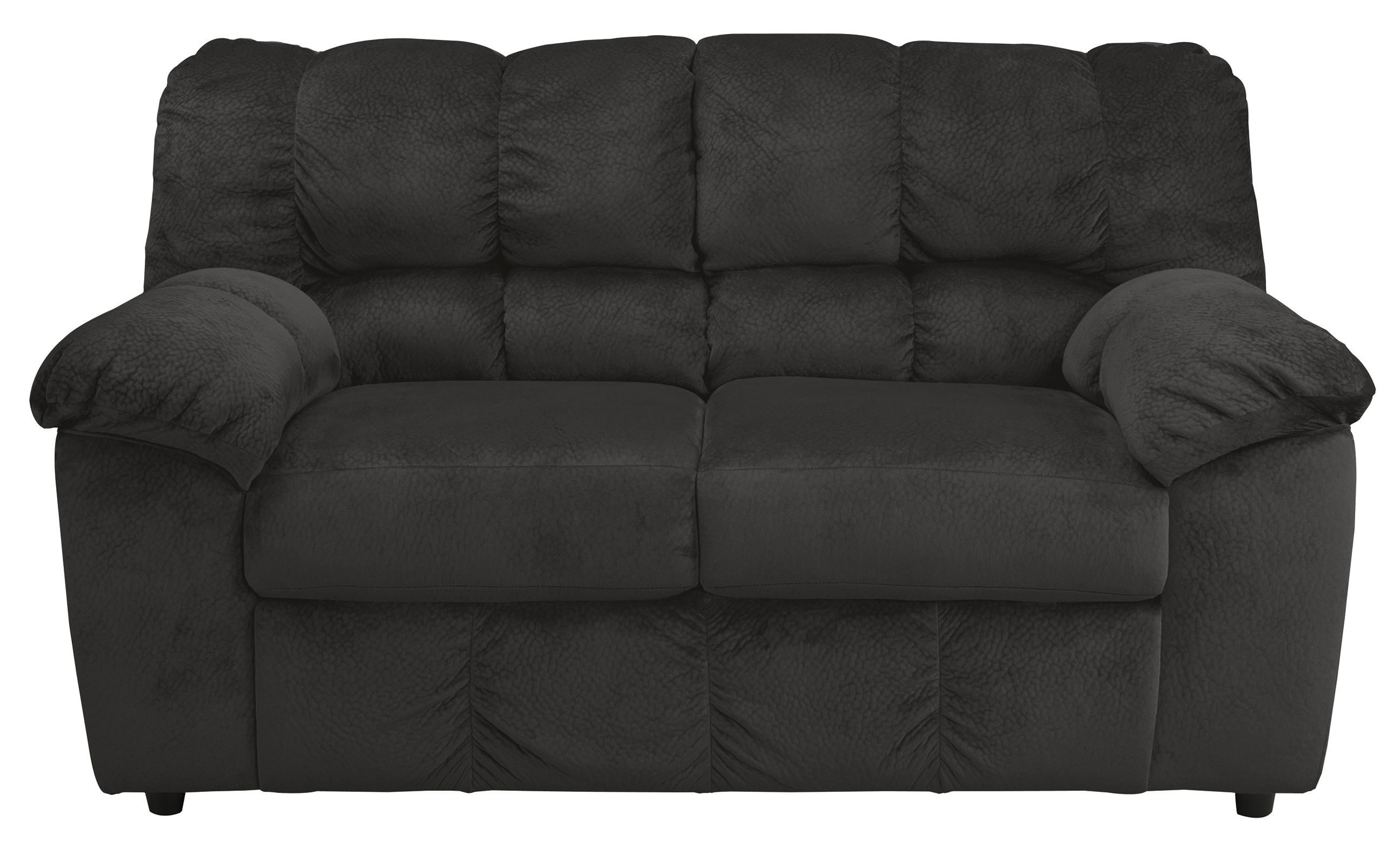 Signature Design by Ashley Julson - Ebony Loveseat - Item Number: 2660035