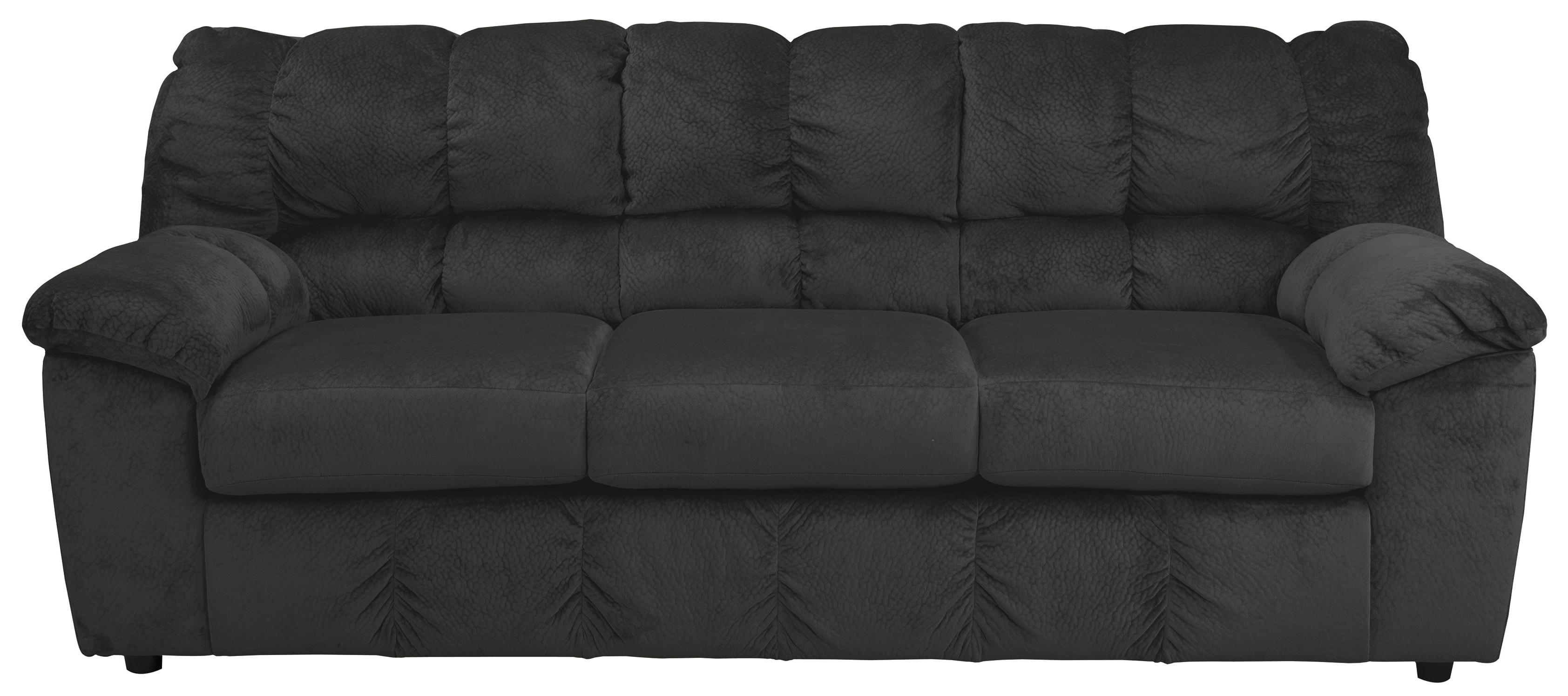 Signature Design by Ashley Julson - Ebony Sofa - Item Number: 2660038