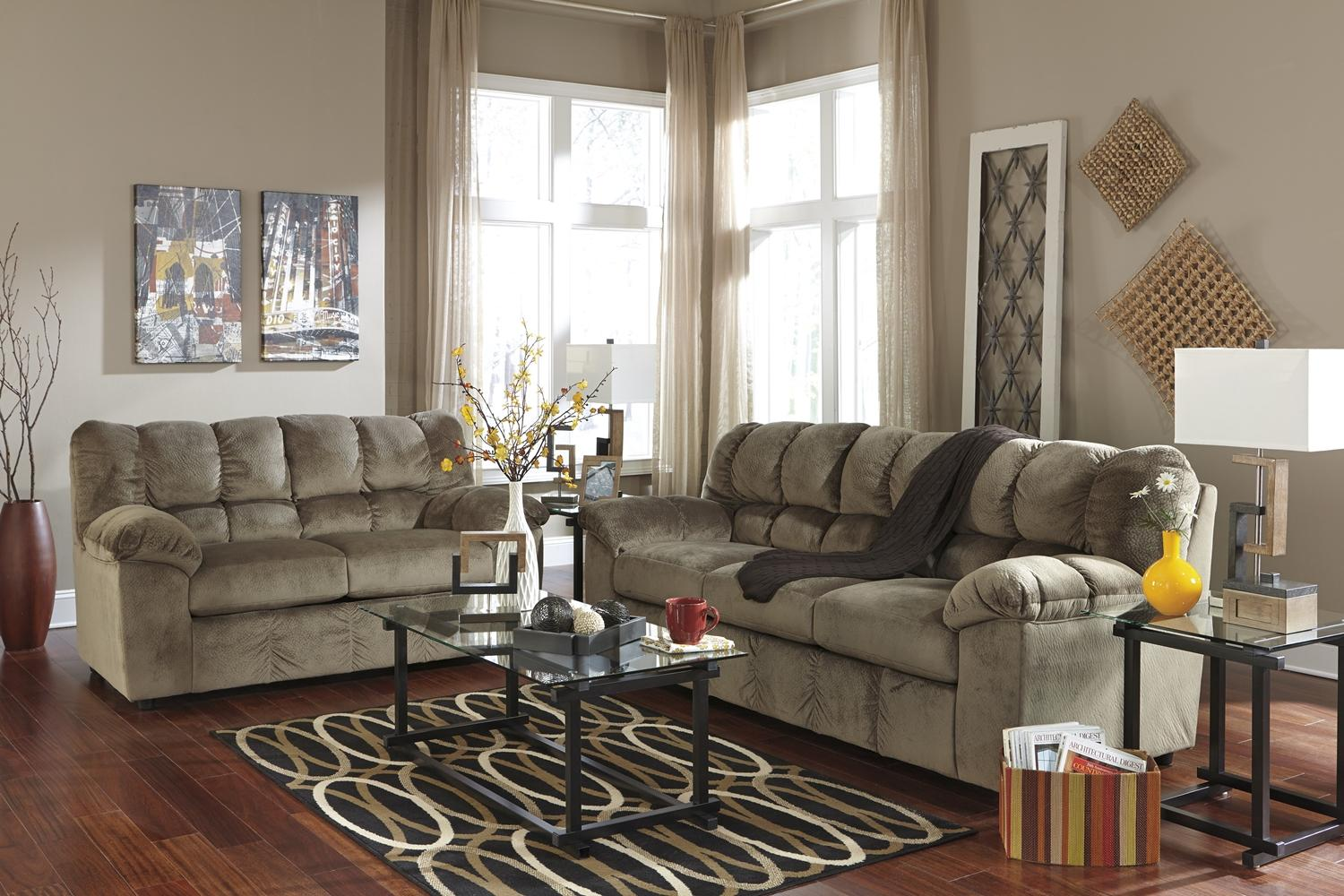 Signature Design by Ashley Julson - Dune Stationary Living Room Group - Item Number: 26601 Living Room Group 1