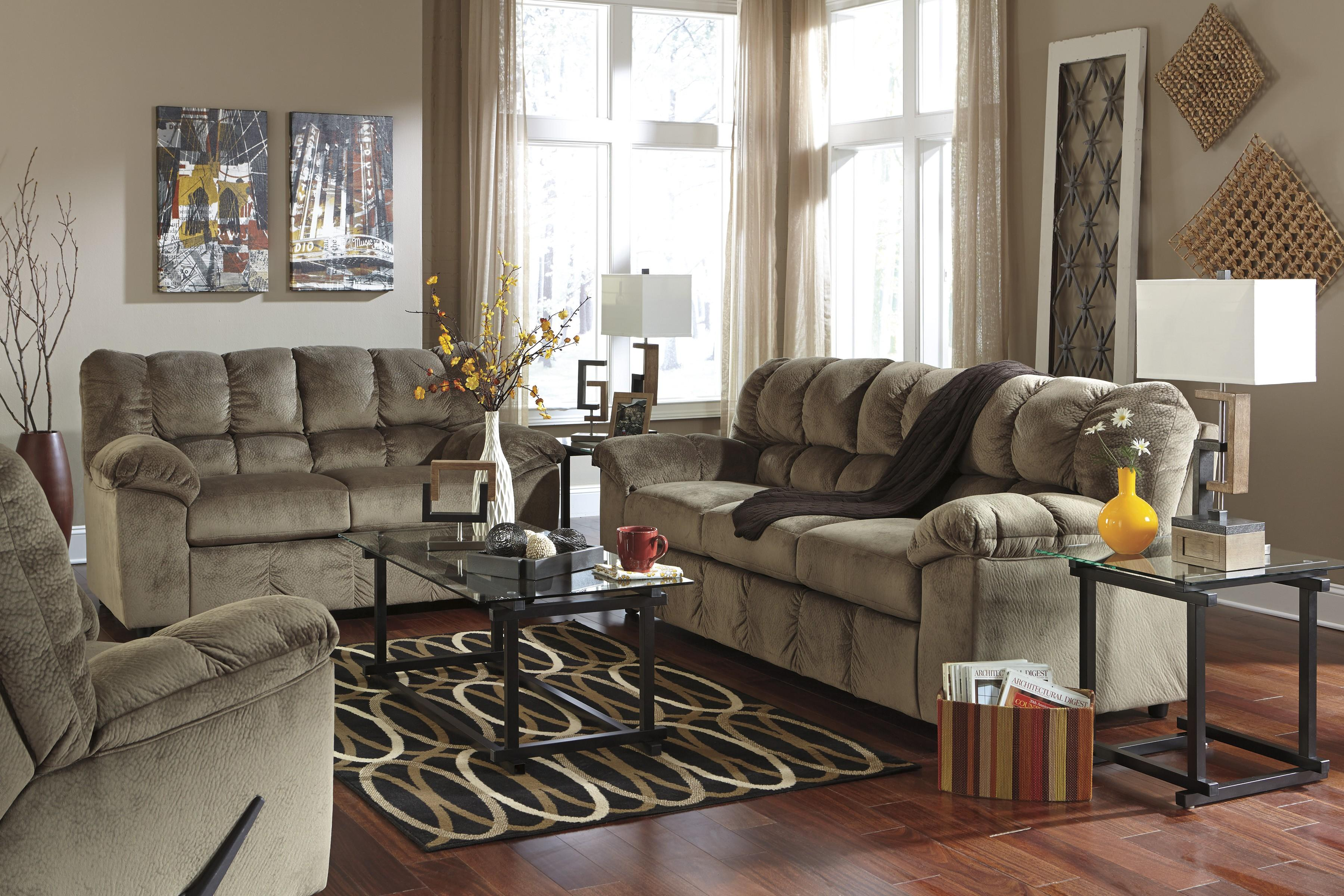Signature Design by Ashley Julson - Dune Stationary Living Room Group - Item Number: 26601 Living Room Group 2