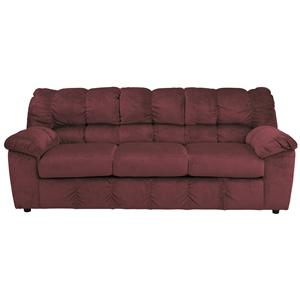 Signature Design by Ashley Julson - Burgundy Sofa