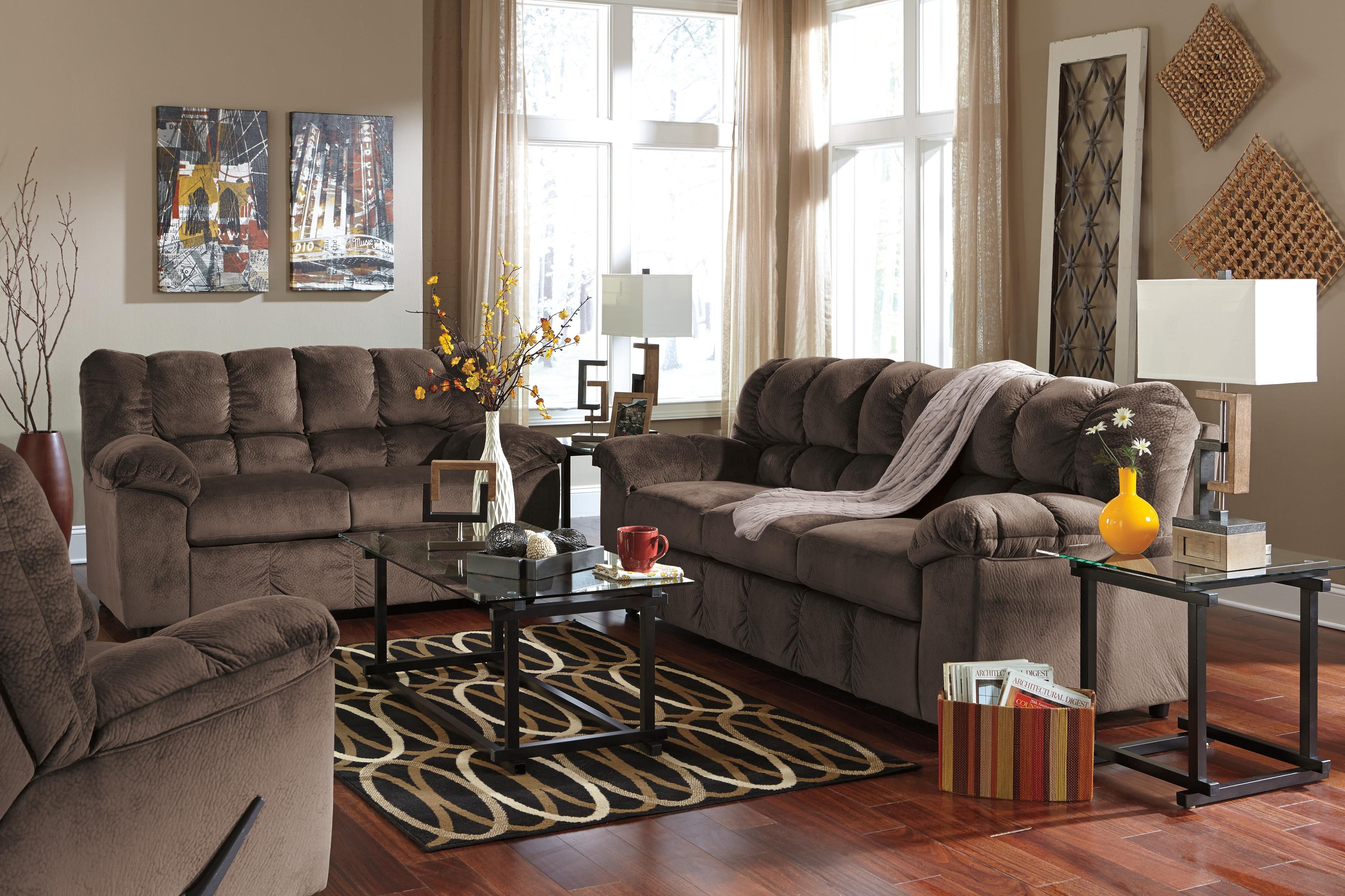 Signature Design by Ashley Julson - Cafe Stationary Living Room Group - Item Number: 26604 Living Room Group 2