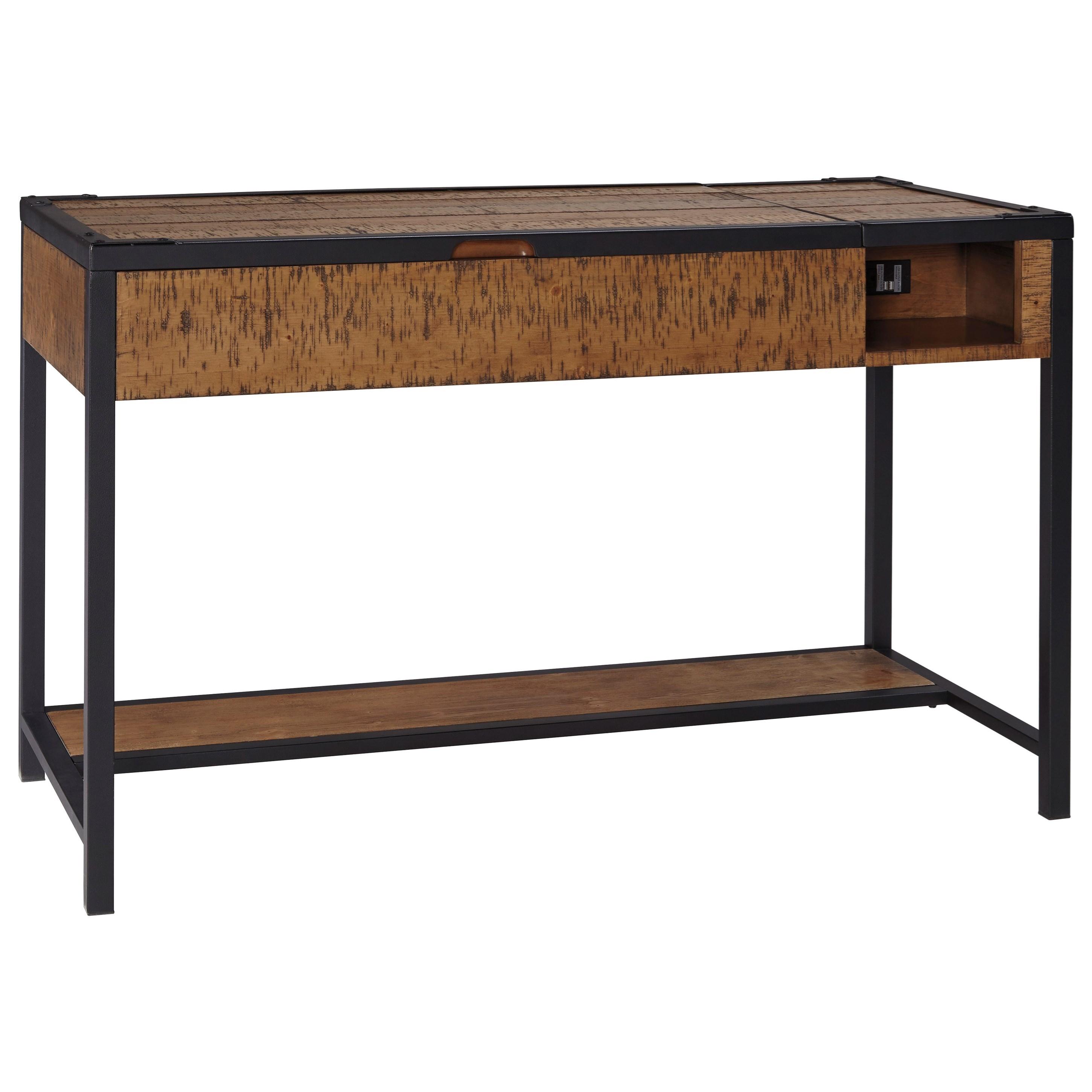 Signature Design by Ashley Kalean Home Office Lift Top Desk - Item Number: H817-29
