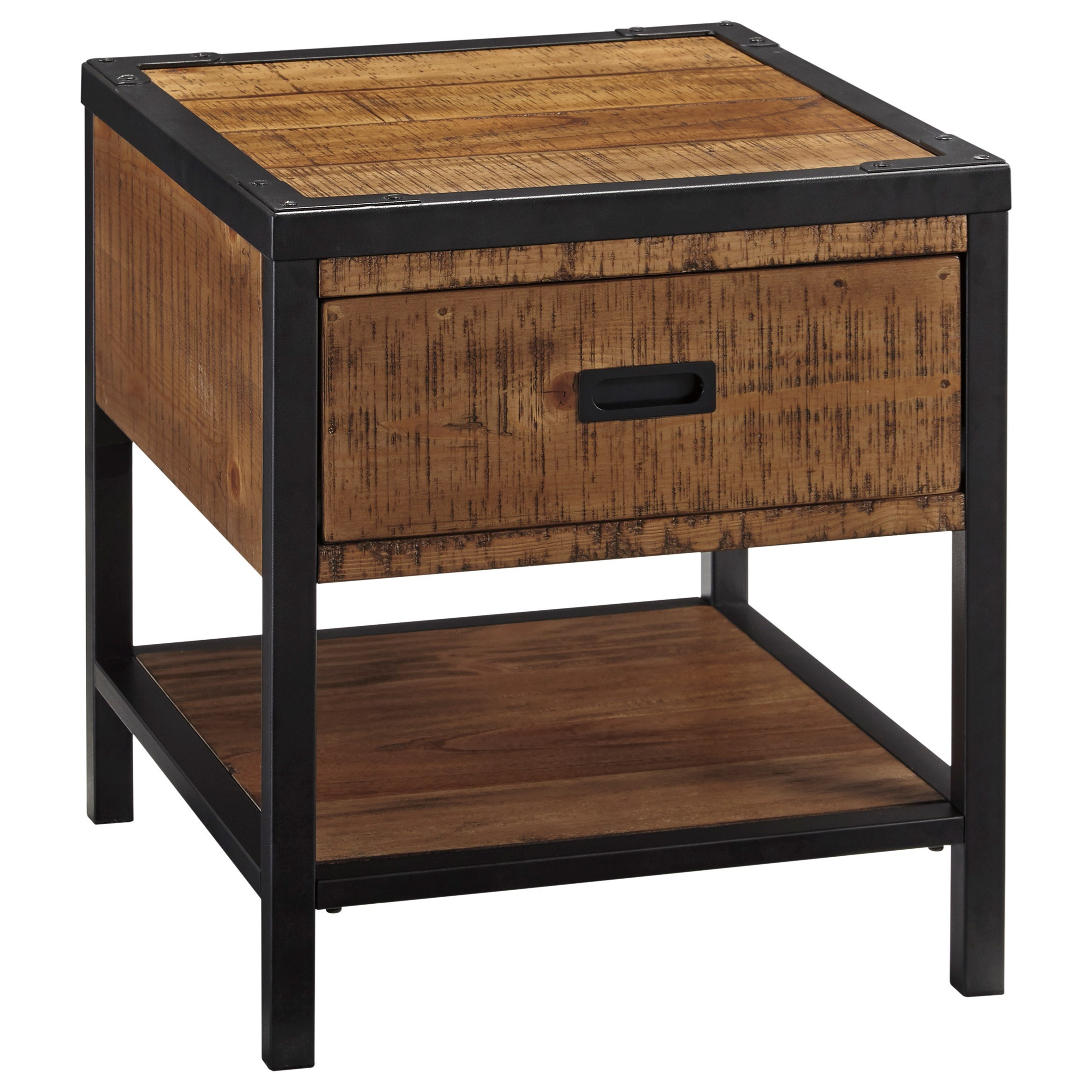 Signature Design by Ashley Kalean Rectangular End Table - Item Number: T817-3