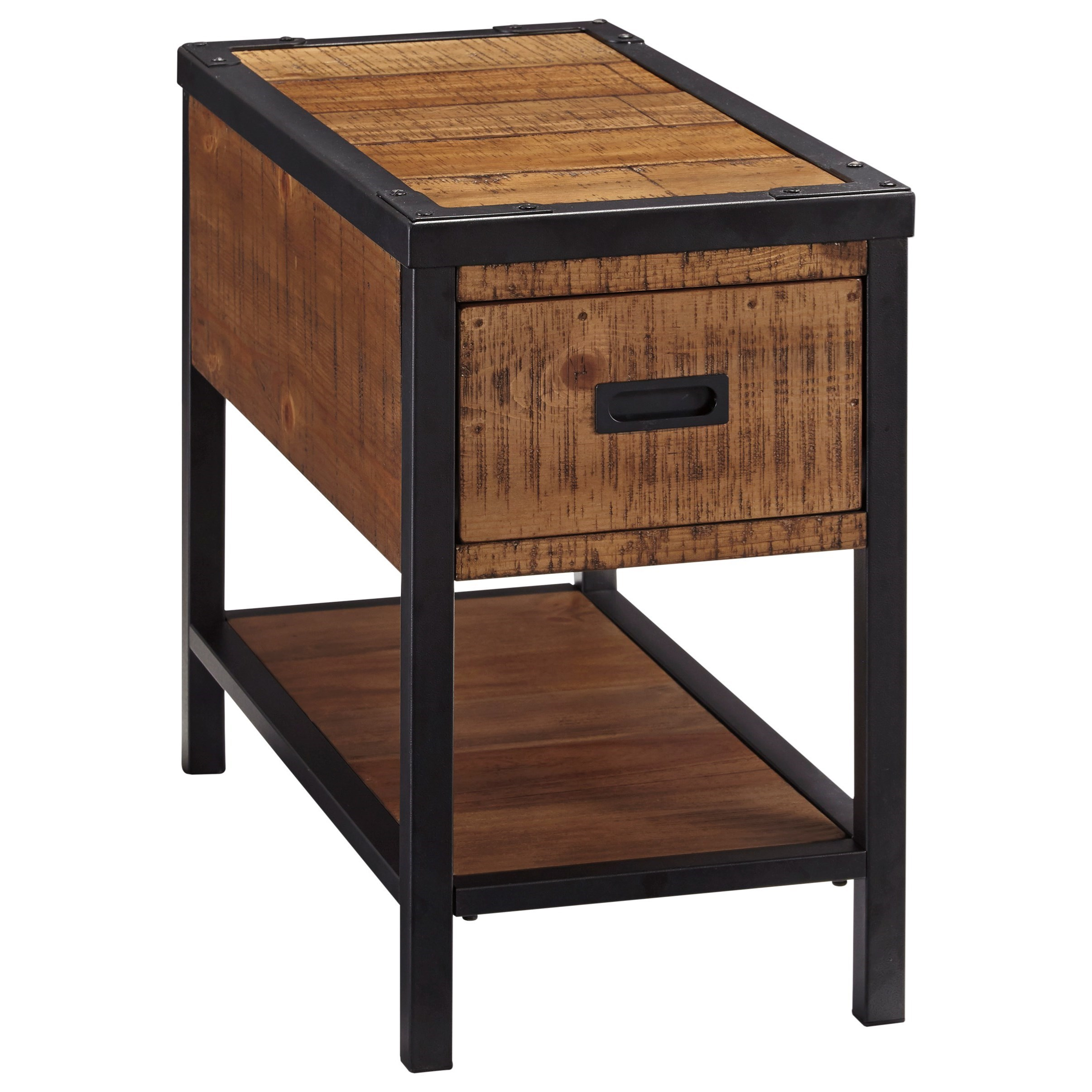 Signature Design by Ashley Kalean Chair Side End Table - Item Number: T817-7