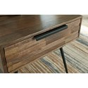 Signature Design by Ashley Karmont Contemporary Square End Table with Drawer