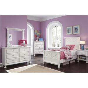 Signature Design by Ashley Kaslyn 4-PC Twin Bedroom