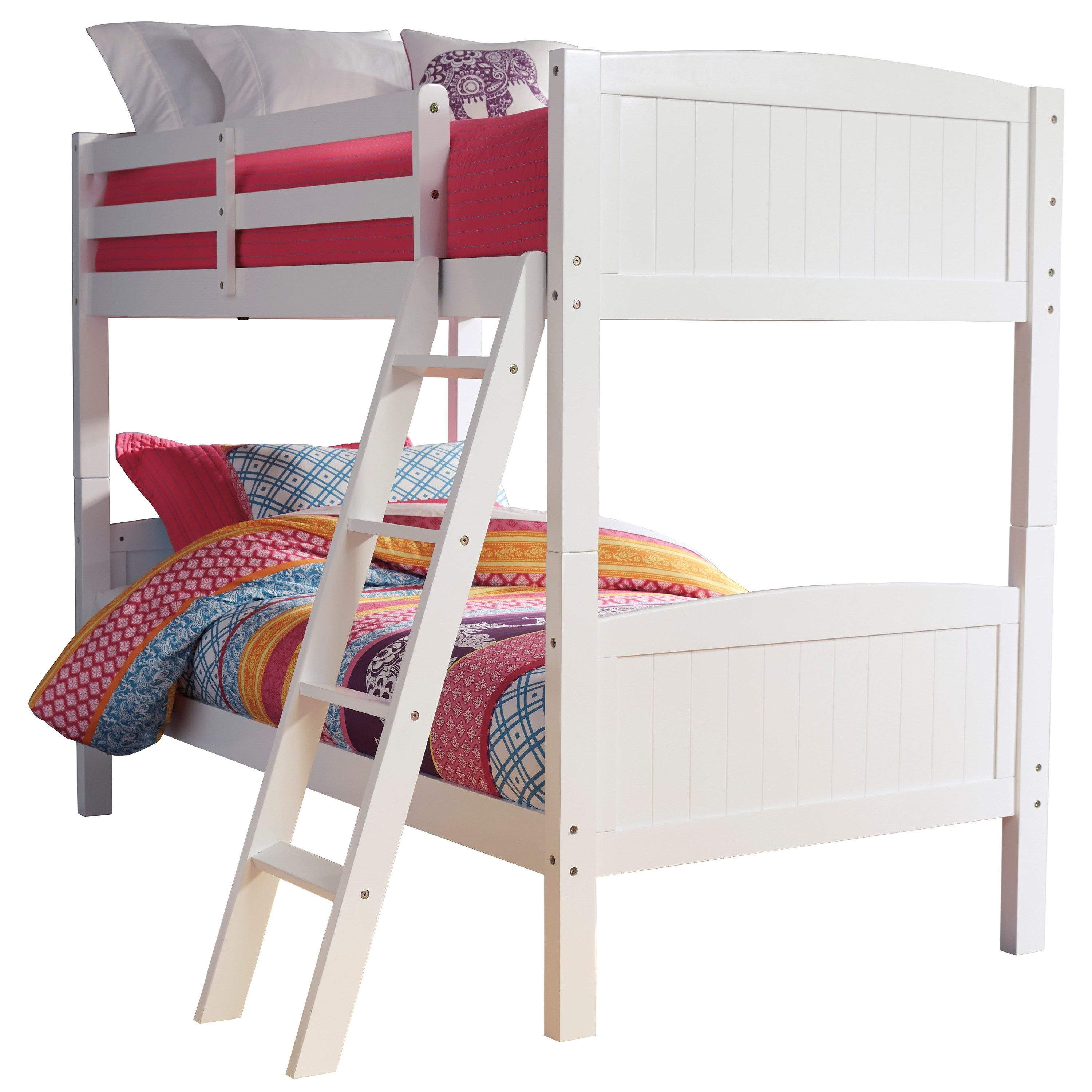 Kaslyn Twin/Twin Bunk Bed by Ashley (Signature Design) at Johnny Janosik