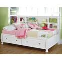 Ashley (Signature Design) Kaslyn Twin Bookcase Bed - Item Number: B502-85+51+82