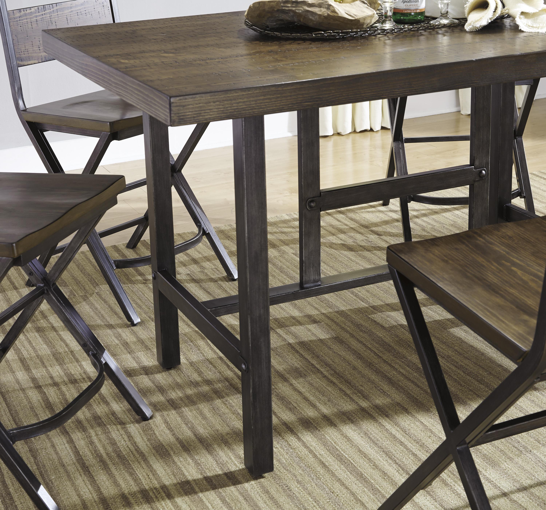 Korvina 5 Piece Rectangular Dining Room Counter Table W