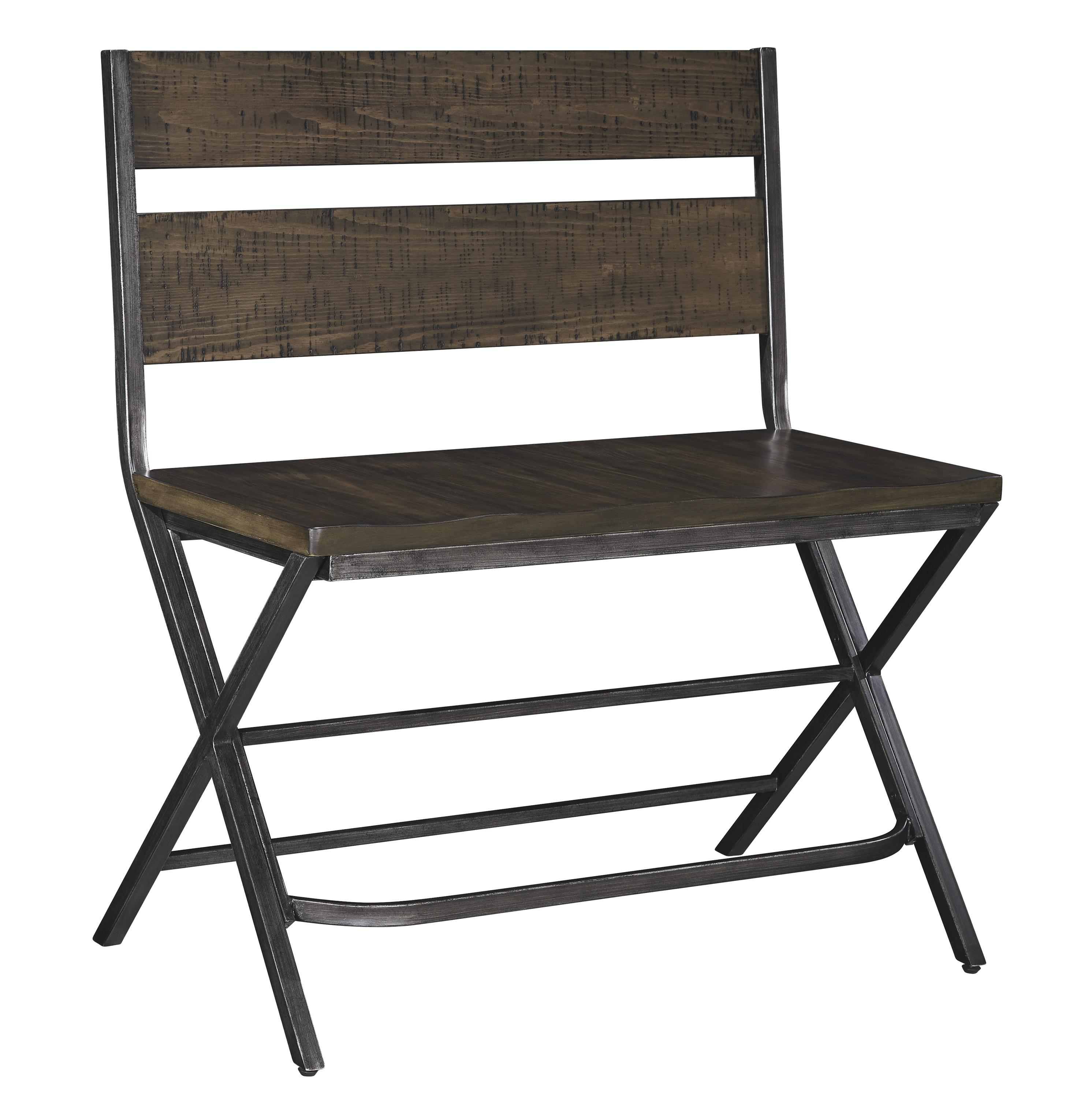 Signature Design By Ashley Kavara Medium Brown Double Bar Stool W