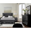 Signature Design by Ashley Kaydell King Bedroom Group - Item Number: B1420 K Bedroom Group 4