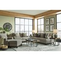 Signature Design by Ashley Kaywood Sofa, Loveseat, Chair, and Ottoman - Item Number: PKG010983