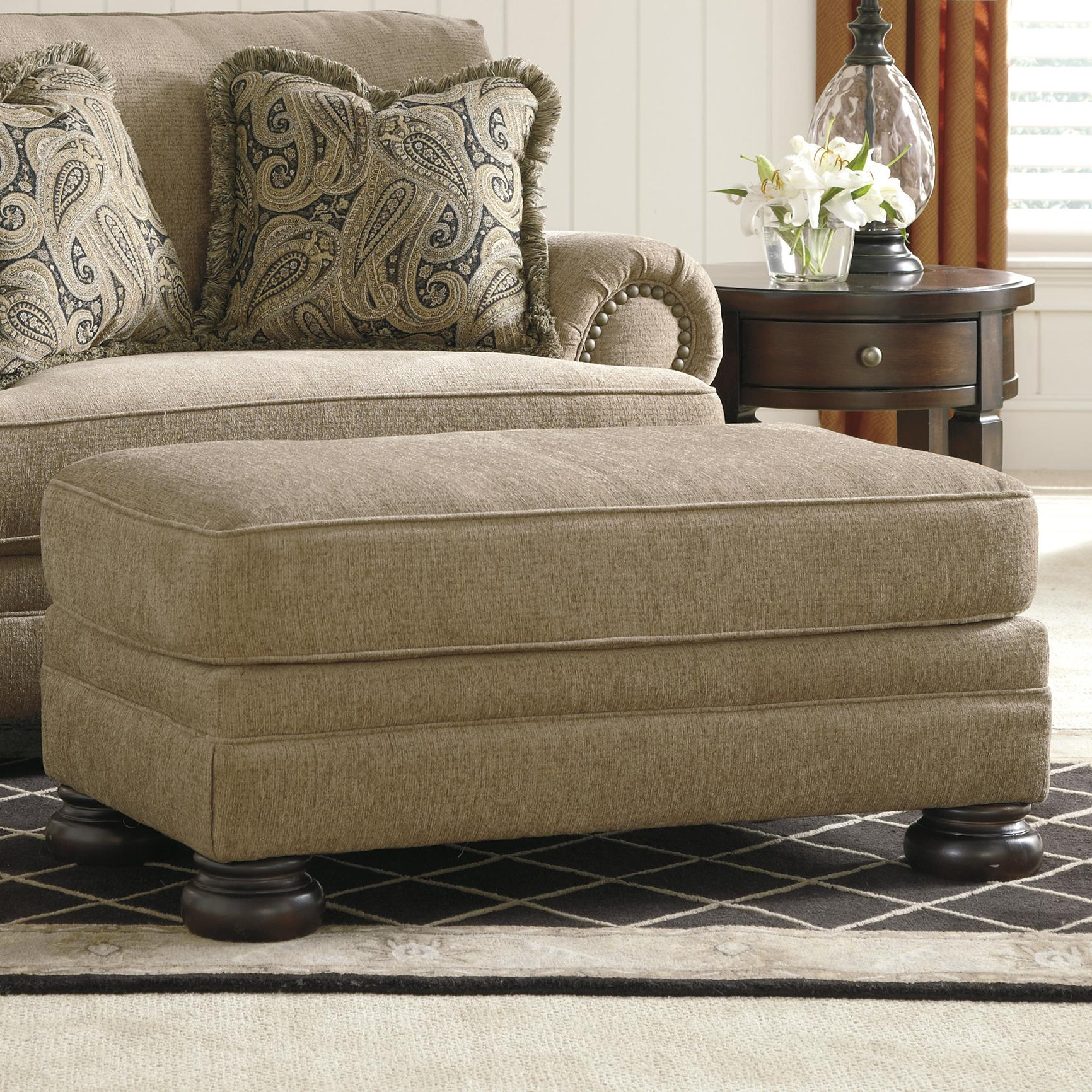 Signature Design by Ashley Keereel - Sand Ottoman - Item Number: 3820014