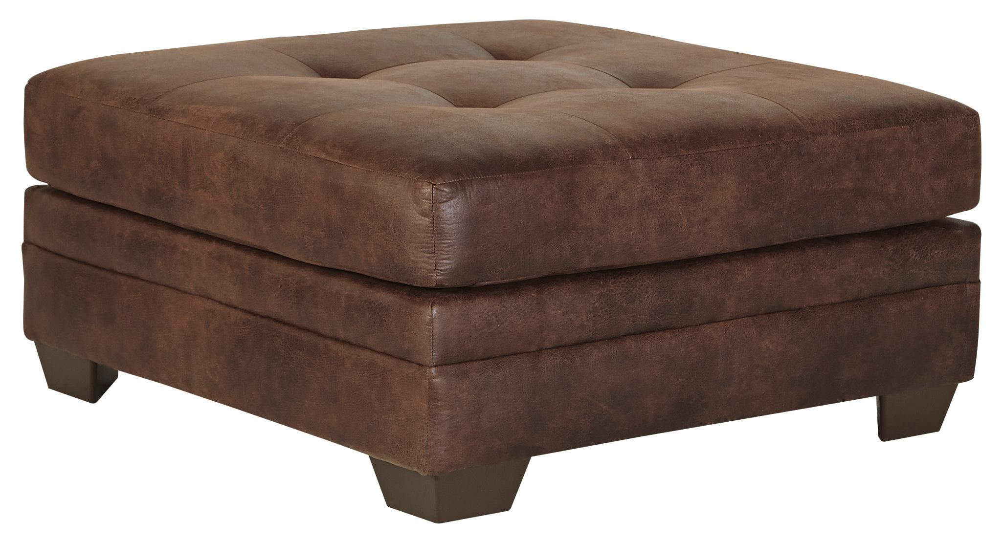 Signature Design by Ashley Kelemen - Amber Oversized Accent Ottoman - Item Number: 4710008