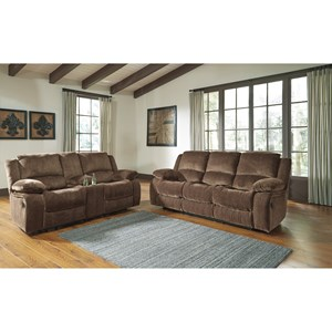 Signature Design by Ashley Kellerhause Reclining Living Room Group
