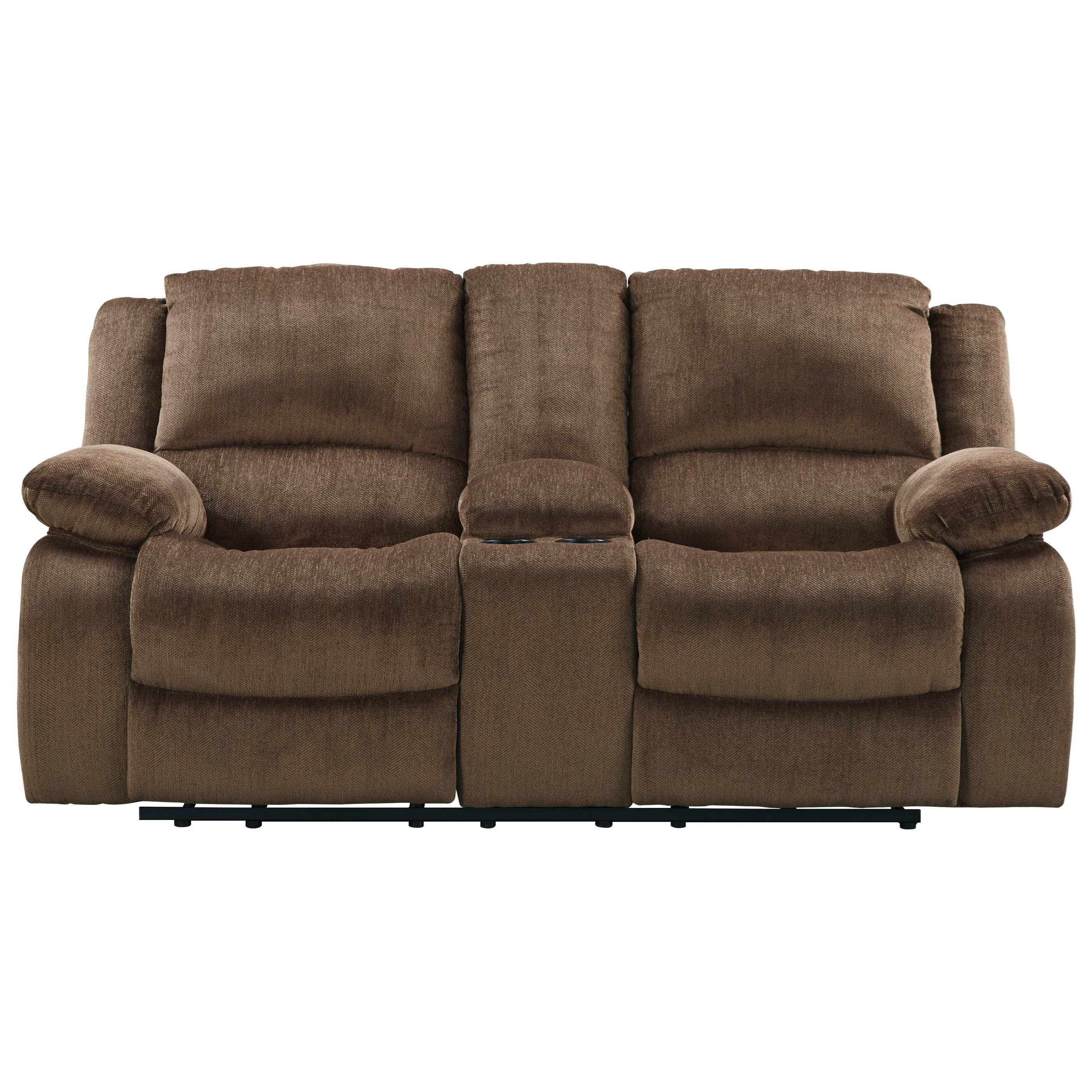 Signature Design by Ashley Kellerhause Double Reclining Loveseat w/ Console - Item Number 7570394  sc 1 st  Household Furniture & Signature Design by Ashley Kellerhause Double Reclining Loveseat w ... islam-shia.org