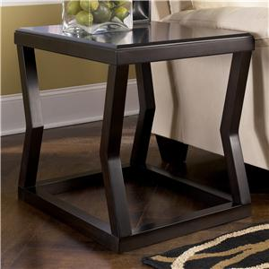 Signature Design by Ashley Kelton Rectangular End Table