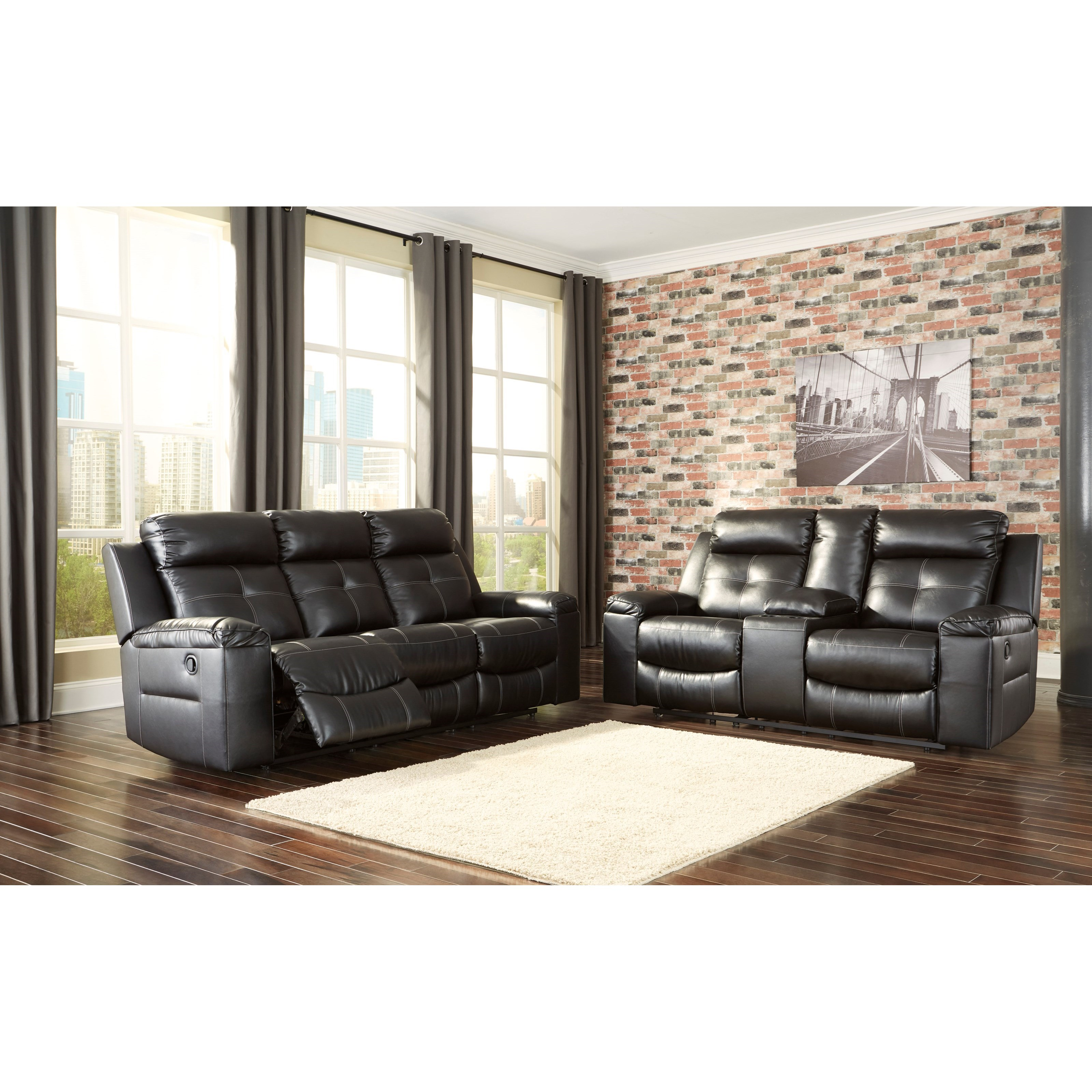 Signature Design By Ashley Kempten Reclining Living Room